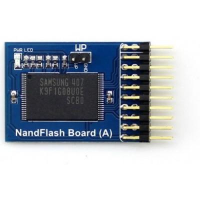 NAND Flash Memory Breakout Module - 1 GBit - 128M x 8 bit - K9F1G08U0E - Samsung