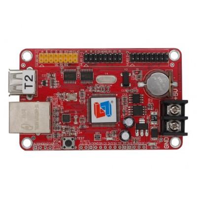 T2 - LED Display Controller Card - Ethernet + USB - 1024*32 - Single Color