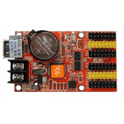 LED Display Controller - 4x HUB12 - 2x HUB08 - 768*64 - 8 MB