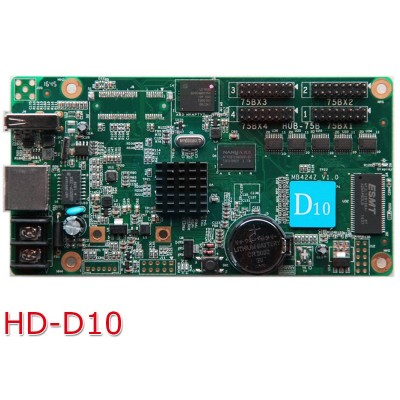 HD-D10 Asynchronous Full Colour LED Display Controller - 384*64 HUB75 - 4GB Storage - Cloud Server Support