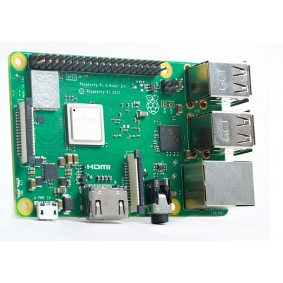 Raspberry Pi 3 - Model B Plus - 1GB RAM - WiFi - BLE - 1.4Ghz CPU - BCM2837B0 SoC