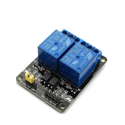 2 Channel Relay Module - 12V - Low Level Triggered  - Isolated Input