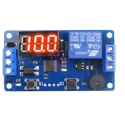 Time Triggered Relay Module - 12VDC - 3 Digit LED Display