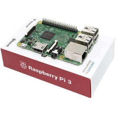 Raspberry Pi 3 - Model B - 1GB RAM - WiFi - BLE - 1.2Ghz CPU
