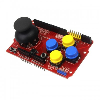 Joystick Shield for Arduino - DIY Gaming Shield