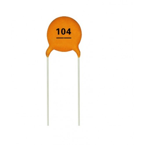 0 1uf Multi Layer Ceramic Disc Capacitor 104 Ct4