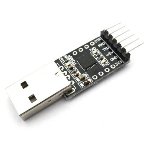 Cp based usb to uart ttl converter module pin