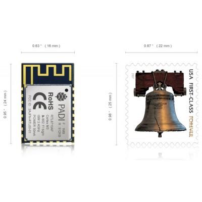 PADI IoT Stamp - Realtek RTL8710AF WiFi Module - PINE64