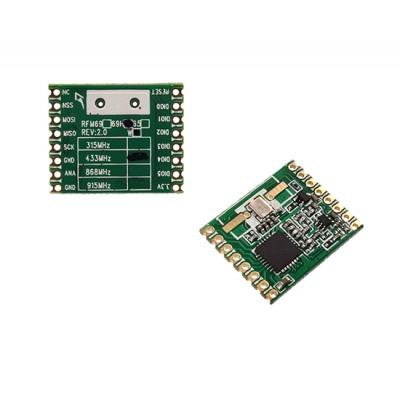 RFM69H - Wireless RF Transceiver - 433 MHz  -120dBM - HopeRF