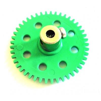 Spur Gear - 45T - 4mm Bore Dia - Metal Bush - 4cm Dia - 3mm Circular Pitch