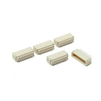 JST-SH : 8Pin Socket - 1mm Pitch - Surface Mount - Lot of 5 PCS