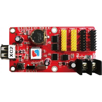 XC2 - Asynchronous - 7 Color LED Display Driver Card - 2x HUB8 - 2x HUB75