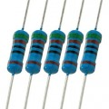 Metal Film Resistor - 1/4 Watt - 1% Tolerance - All values