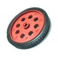 Wheel for BO Motor - 7cm Dia, 0.8cm Width - D Shape Hole