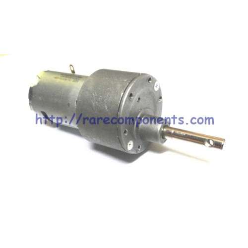 high torque metal geared dc motor 500 rpm 6mm circular shaft