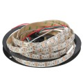 Neopixel WS2812B RGB LED Strip - IP65 Waterproof -  5V - 60LEDs / meter - Inbuilt chip - White - 1 meter