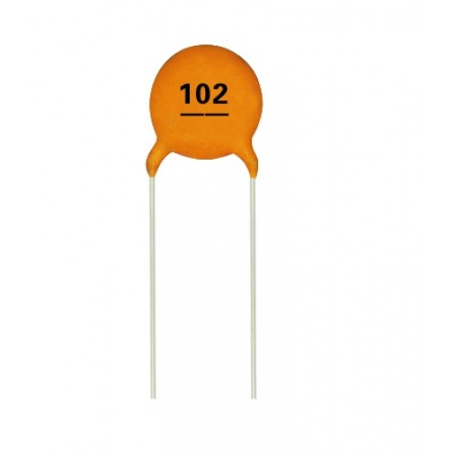 0 001 Uf 1000 Pf Multilayer Ceramic Disc Capacitor 102