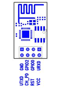 ESP8266 WiFi transceiver module buy in India