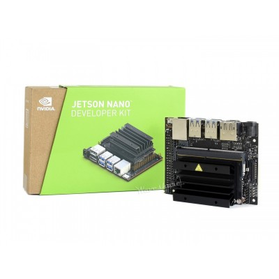 NVIDIA Jetson Nano Developer Kit Upgraded B01 Version 2 Lanes CSI | Small AI Computer | 4GB LPDDR4 | 128-core NVIDIA Maxwell™ GPU | Quad-core ARM® A57 CPU