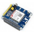 SIM7600E-H Based 4G / 3G / 2G / GSM / GPRS / GNSS HAT for Raspberry Pi, LTE CAT4