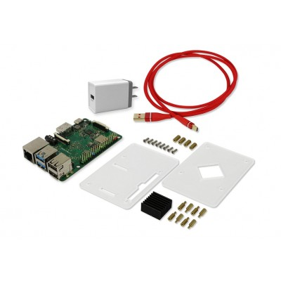 ROCK PI 4B - Performance set (With 4GB RAM Dualband 2,4/5GHz WLAN/Bluetooth 5.0)