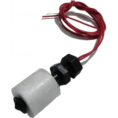 Magnetic Float Switch - Vertical Mount - Normally Open (NO) - 50cm Wire