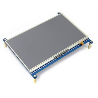 7inch HDMI LCD for Raspberry Pi, 1024×600 - Resistive Touch