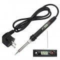 80W Soldering Iron with Digital Temperature Control - Ceramic Heating - 480℃ - LCD Thermostat - 936H