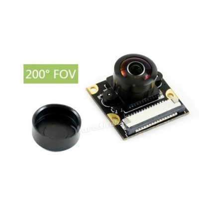 Sony IMX219-200 Camera - 200° FOV - 8 MP - 3280 × 2464 - Applicable for Jetson Nano