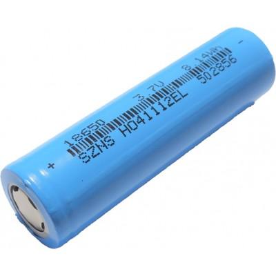 2200 mAh 18650 Li-ion 3.6V - 4.2V Rechargable Cell  - 1S