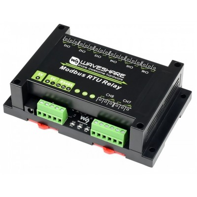 Industrial Modbus RTU 8-channel Relay Module RS485