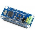 RS485 CAN HAT for Raspberry Pi,  MCP2512+SN65HVD230+SP3485