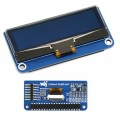 2.23inch OLED display HAT for Raspberry Pi, 128×32, SSD1305, I2C, SPI