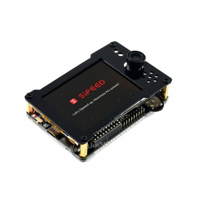 """Maix Go Suit AIoT Developer Kit - 2.8"""" LCD - OV2640 Camera with M12 Lens"""