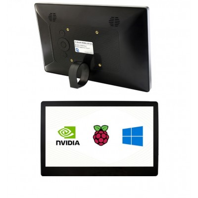 11.6inch Capacitive Touch Screen LCD (H) with Case,Toughened Glass Cover, 1920×1080, HDMI, IPS, Various Systems Support