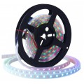 5 Meter Reel  - IP67 Waterproof- NeoPixel WS2812B Addressable LED Strip - 5V - 60 led/mtr - White PCB