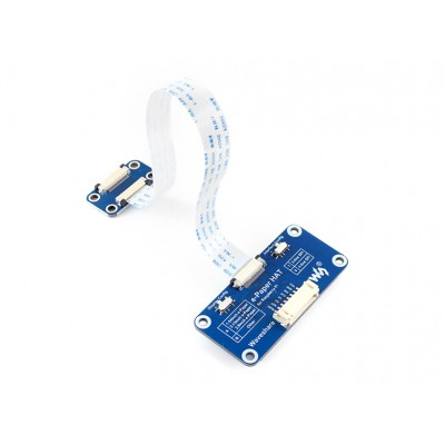 Universal e-Paper Driver Raspberry Pi HAT for Raw E-paper Panels with SPI interface