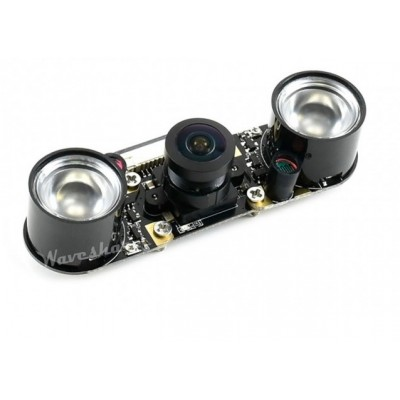 Sony IMX219-160IR Camera, 8 MP,  160° FOV, Infrared, Applicable for Jetson Nano