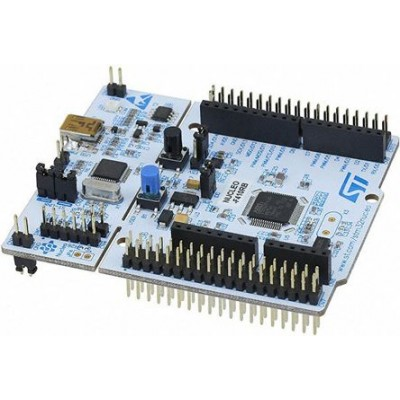 NUCLEO-F410RB Development Kit for STM32F410RBT6 Microcontroller - Embedded ST-Link -  Mini USB cable included