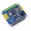 High-Precision AD/DA Expansion Board HAT for Raspberry Pi ADS1256 + DAC8552