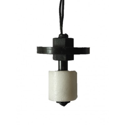 HT04 Magnetic Float Switch with Counter Weight , Vertical Mount, 1meter Wire