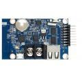 HD-WF1 LED Display Controller Card - 7 Color Control - 1x HUB75E - WiFi + USB