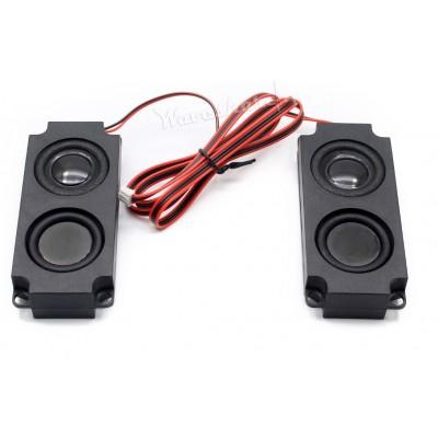 8Ω 5W Speaker -  Set of 2 - 100mm x 45mm x 21 mm