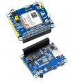 A7600E LTE Cat-1 HAT For Raspberry Pi, Low Speed 4G Module, 2G GSM / GPRS Support, LBS Positioning, Text To Speech
