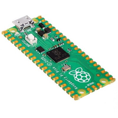 Raspberry Pi PICO RP2040  Microcontroller Board, Dual-core Arm Cortex M0+, 264KB of SRAM, 2MB Flash, USB