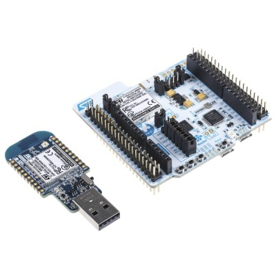 P-NUCLEO-WB55 Bluetooth 5 and 802.15.4 Nucleo Pack including USB dongle and Nucleo-64 with STM32WB55 MCU