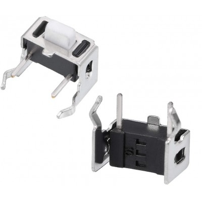 Tactile Switch - Right Angle Side Mount - PCB Mount - Through Hole - TC-120V-5