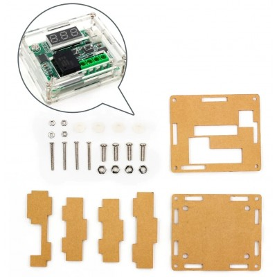 Acrylic Clear Case for XH-W1209 Temperature Controller Relay Module