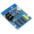 HD-W03 Three Row Single Color WiFi LED Display Controller Card, 3x HUB12, 1xHUB08, 512*48