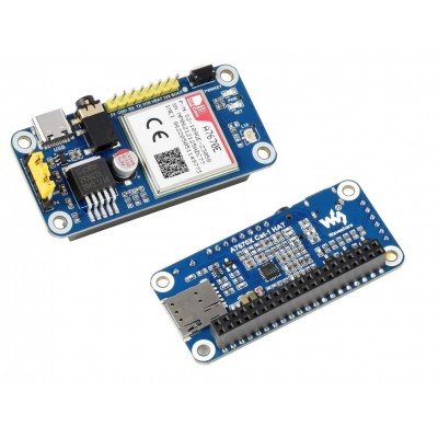 A7670E LTE Cat-1 HAT for Raspberry Pi, Multi Band, 2G GSM / GPRS, LBS, Text To Speech